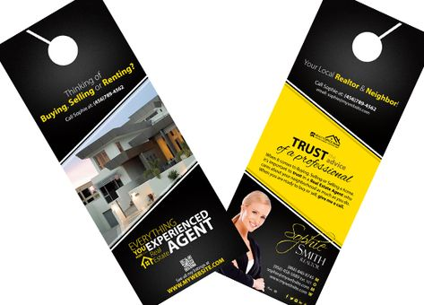 door hanger design real estate. Remax Door Hangers | Real Estate Branding Pinterest Hanger, And Doors Hanger Design