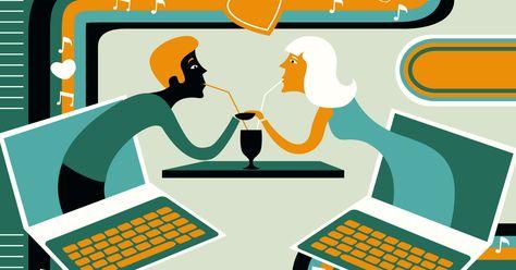 Big Data datingkytkennät rulla lauta vaatteet