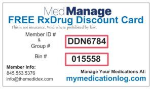 Rx Discount Card With Images Medical Marketing Medical