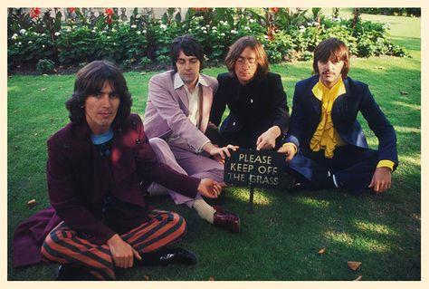 "Photo Print 14 x 11/"" The Beatles 1968 July 28"
