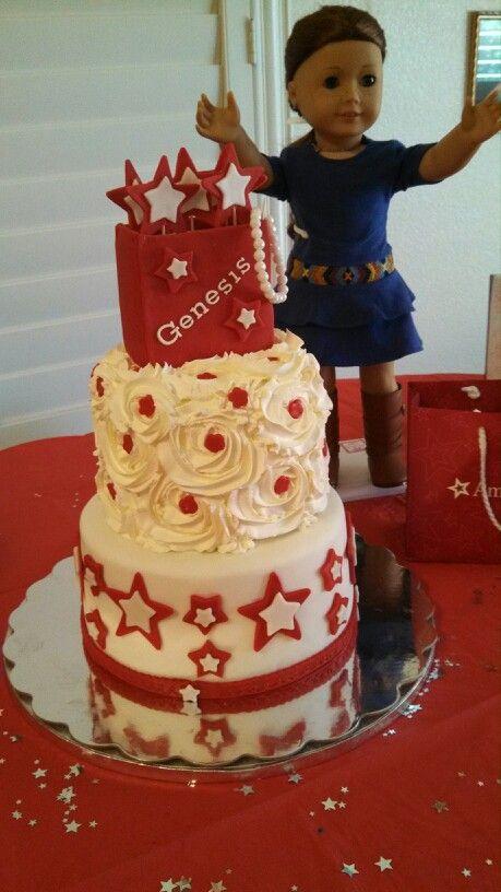 Stupendous 26 Best American Girl Cakes Images American Girl Cakes Funny Birthday Cards Online Elaedamsfinfo