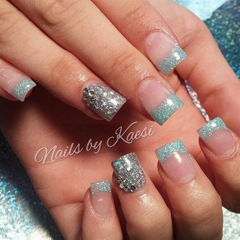 Glitter is always fun! by nailsbykaesi - Nail Art Gallery nailartgallery.nailsmag.com by Nails Magazine www.nailsmag.com #nailart #Acrylic #nails #boise #nampa #CALDWELL #meridian #Kuna #IDAHO #EZFlow #nailtech #Acrylicnails #nailartist #Swarovski  #glitter