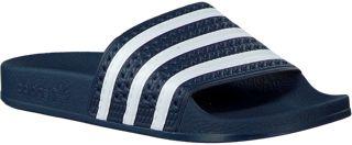 Blauwe Slippers Adilette Dames | Slippers, Blauw, Adidas ...
