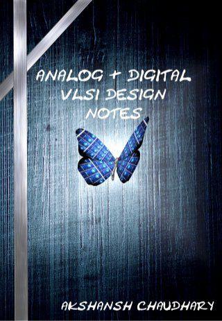 Analog And Digital Vlsi Design Notes Akshansh Engineering Notes Digital Signal Processing Signal Processing