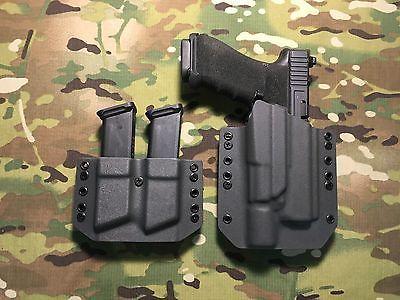 Kydex OWB Holster for Glock 17 Gen 5 with Surefire X300