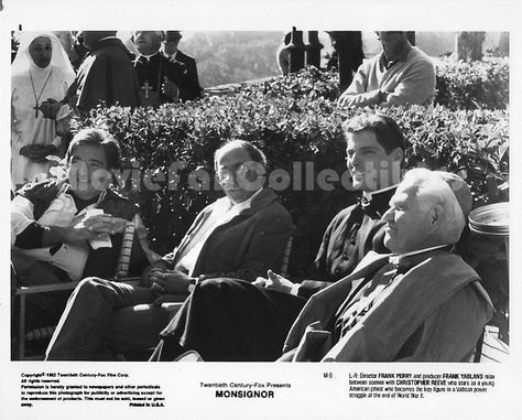 Monsignor Photo Frank Yablans, Frank Perry, Christopher Reeve
