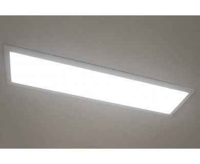 Surface Mount Led Panel Light 1x4 4 100 Lumens 40w Dimmable Even Glow Light Fixture In 2020 With Images Led Panel Light Led Light Fixtures Led Panel