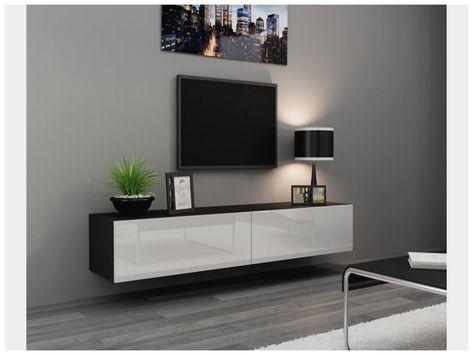 Elegant Meuble Sous Tv Suspendu Design Meuble Sous Tv