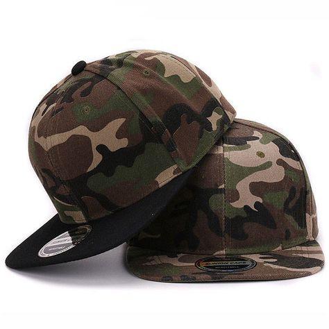 baseballcap snapback Camouflage polyester...