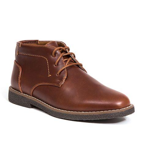 99e7edbdb18 Deer Stags Zeus Boys  Chukka Boots