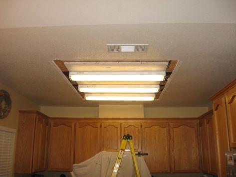 Kitchen Fluorescent Light Fixtures Decorative Kitchen