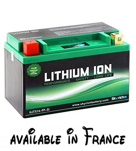 Skyrich Batterie moto Lithium YTX14-BS 12V 14Ah HJX14