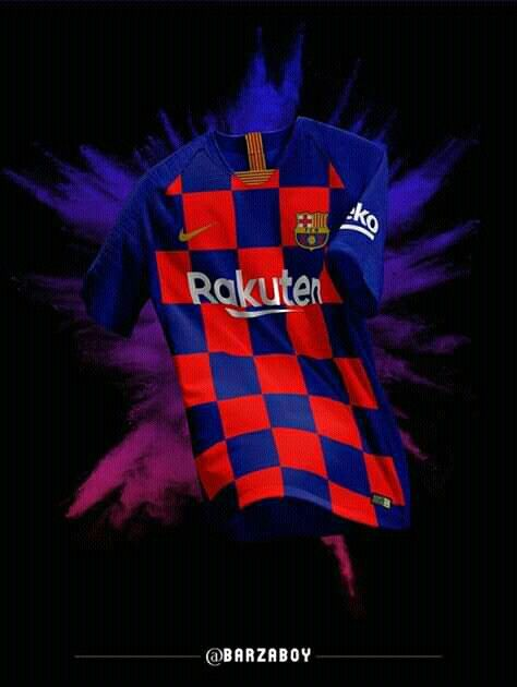 5710d6b61be Nike & FC Barcelona Unveil Mash-Up Jersey for 20th Anniversary ...