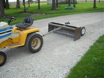 Homemade Pull Behind Box Scraper Mytractorforum Com The Friendliest Tractor Forum And Best Place For T Homemade Tractor Tractor Implements Homemade Trailer