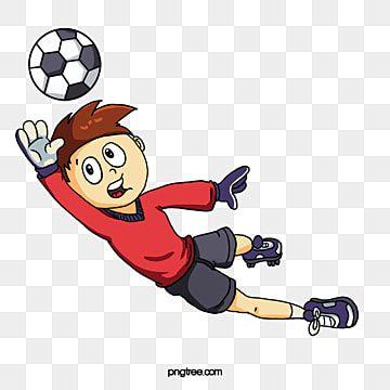 حارس المرمى قميص أحمر كرة القدم حركة Png وملف Psd للتحميل مجانا In 2021 Kids Soccer Animation Cartoon