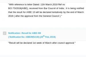 Bci Postpones All India Bar Exam Results For 3rd Time Now Tentatively By March End Bar Exam Bar Exam Results Exam Results