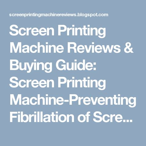9895a77c93d5e9a30a9ab411ff84aa82 16 best tips to use screen printing machine images on pinterest  at panicattacktreatment.co