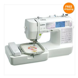 Brother Se400 Computerized Sewing Embroidery Machine