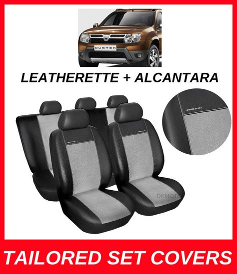 Amazing Leatherette Alcantara Tailored Seat Covers Dacia Duster Short Links Chair Design For Home Short Linksinfo