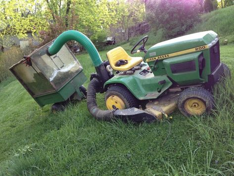 Lifetime lawn and garden tractor- the John Deere 200 and 300