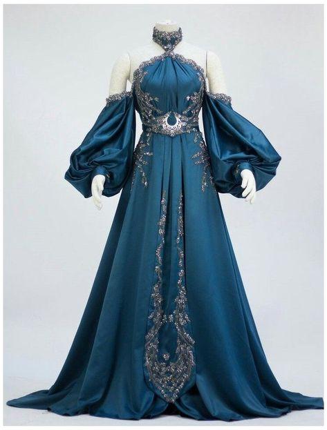 Pretty Outfits, Pretty Dresses, Beautiful Dresses, Ball Dresses, Ball Gowns, Fantasy Gowns, Fantasy Outfits, Goddess Costume, Goddess Dress