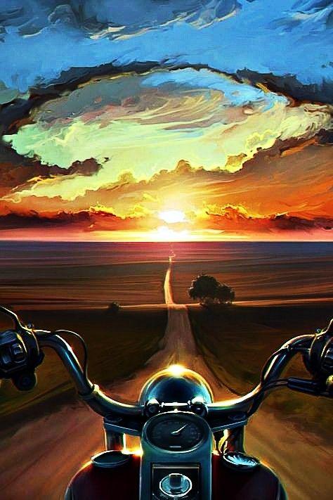 Pin By Julitaflores On Rock N Roll Artwork Harley Davidson Wallpaper Bike Art Biker Art Best harley davidson wallpaper android