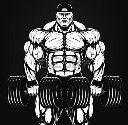 Pin By Arrienne Cooke On Gym Art Gym Art Gym Motivation Wallpaper Bodybuilding Logo