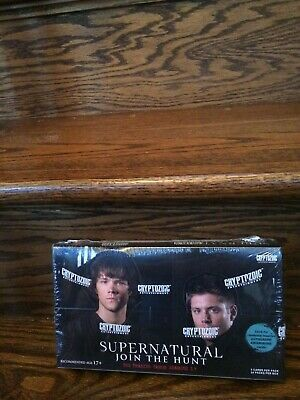 Details About 2014 Cryptozoic Supernatural Join The Hunt Seasons 1 3 Trading Card Hobby Box In 2020 Trading Cards Cards Supernatural