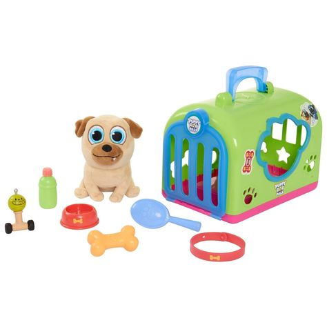 Disney Puppy Dog Pals Groom And Go Rolly With Carrier With Images Pet Carriers Dogs And Puppies Puppy Friends
