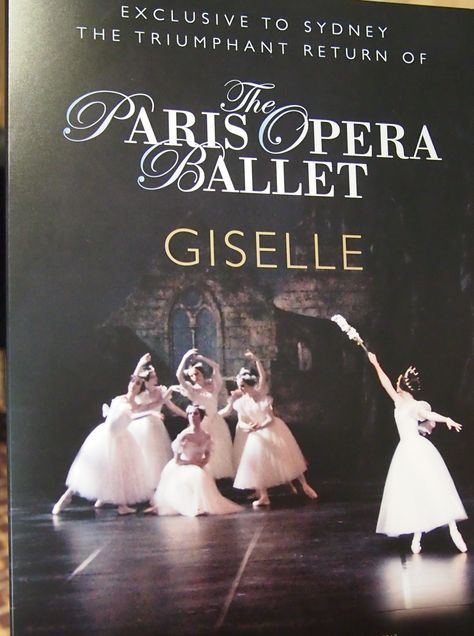 I want to see the paris opera ballet in Paris