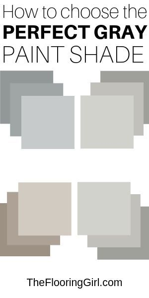 What Are The Most Popular Shades Of Gray Paint The Flooring Girl Perfect Grey Paint Shades Of Grey Paint Grey