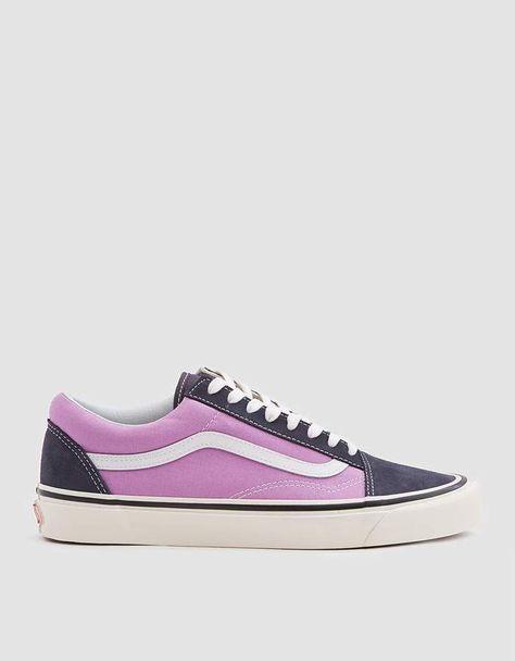 Vans Old Skool 36 Dx Anaheim Factory Sneaker In Og Navy Og Lilac Sneakers Vans Old Skool Vans