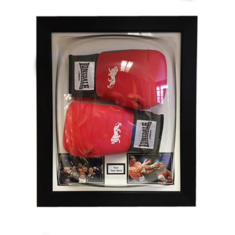 Display your signed boxing glove in this amazing designed