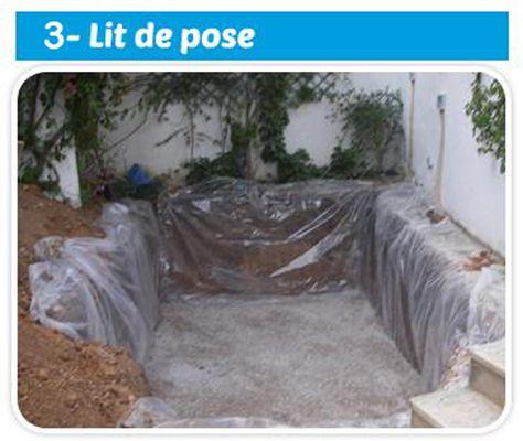 Lu0027excavation désigne lu0027étape de terrassement de la piscine Il s