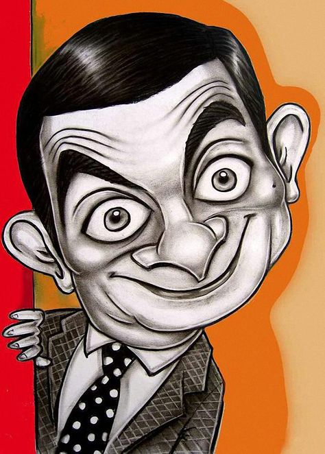 """High quality Vintage Tattoos Patterned poster """"Cartoon Mr. Bean"""" home decor pictures for bedroom wall art craft sticker 42x30cm. Yesterday's price: US $2.96 (2.60 EUR). Today's price: US $2.96 (2.58 EUR). Discount: 63%."""