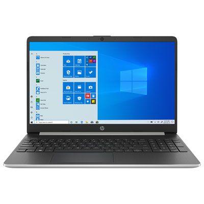 Hp 15 6 Laptop Silver Intel Core I7 1065g7 512gb Ssd 8gb Ram