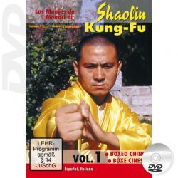 DVD Shaolin Kung Fu Boxing   Kung Fu empty hand techniques
