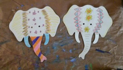 We'll be making Festival Elephants in the Art Discovery Center starting January 2nd!