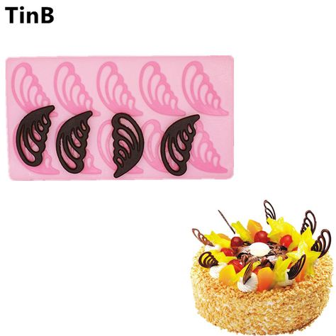 Colorido Rose Flower Shape Silicone Mold Cake Chocolate Cookie Decorating Mould