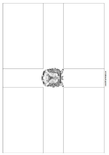 Free Printable Dominican Republic Flag Coloring Page Free