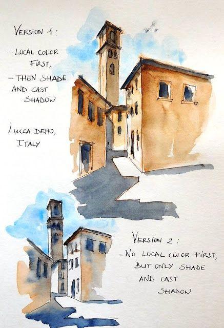 Croquis Carnets De Voyage Et Aquarelle Stage De Croquis En Ligne Sketching Travel Journals And Watercolor Online Workshop Akvarel Risunok
