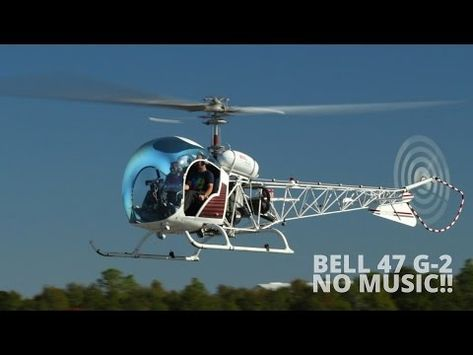 Mario Werth instructs a new student on flying the classic Bell 47 helicopter. Filmed at Bob Sikes Airport in Crestview, FL. No music, just Bell!