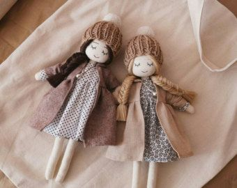 100% de satisfacción compras brillo encantador Soñar con vestido de muñeca hecha a mano - lunares vestidos ...