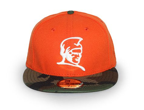 56730210a820a Orange Kamehameha 59Fifty Fitted Cap by FITTED HAWAII x NEW ERA ...