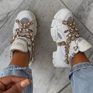una gran variedad de modelos gama completa de especificaciones ofrecer descuentos Gucci gang | ♡ ѕ н σ є 'ѕ ♡ in 2019 | Gucci sneakers ...