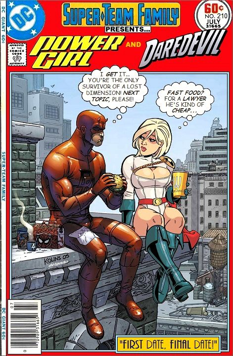 Super-Team Family: The Lost Issues!: Power Girl and Daredevil