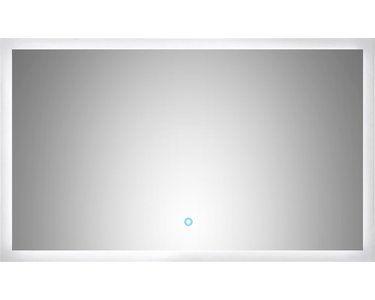 Led Lichtspiegel 100x60 Cm Neutralweiss Mit Touch Bedienung Eek A