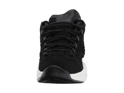 311906ab5e9 Reebok Lifestyle Question Mid HOF Men s Shoes Black Braid
