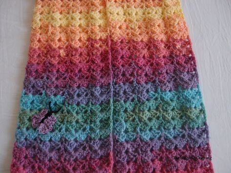 Gorgeous Toddler Scarf Pattern By Themagicofcrafting Crochet
