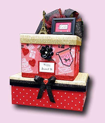 Card Box,card holder,wedding card box,wedding invitation,zebra favor,Quinceanera,animal print card box Sweet 16 birthday